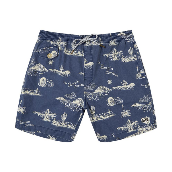 Springs 16 Inch Boardshort - Blue Springs
