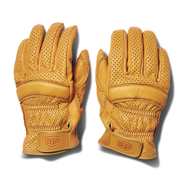 Mesh Gripping Gloves - Camel
