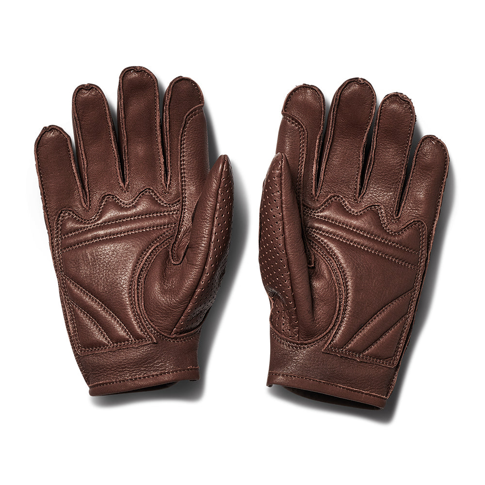 Mesh Gloves - Brown