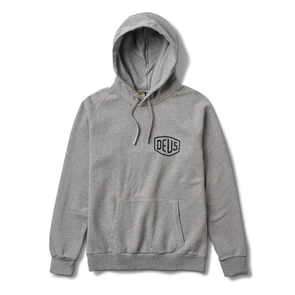Milano Address Hoodie - Grey Marle