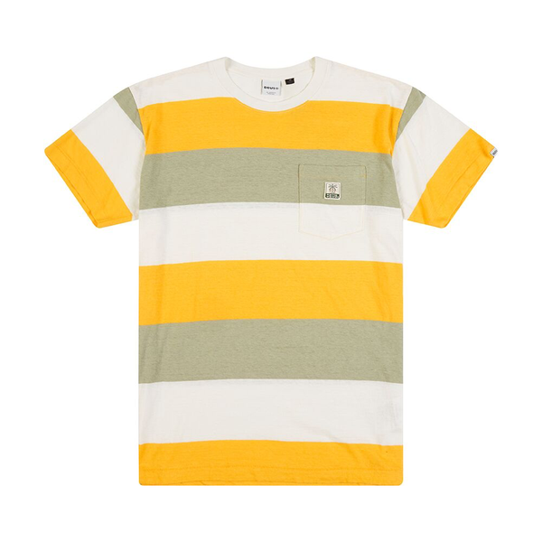 Alvaro Stripe Tee - Golden Combo