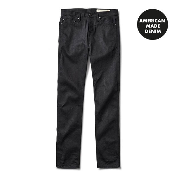 Isola Straight Denim (Raw Black) - Raw Black