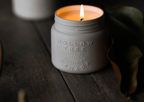 Hollow Tree Candles
