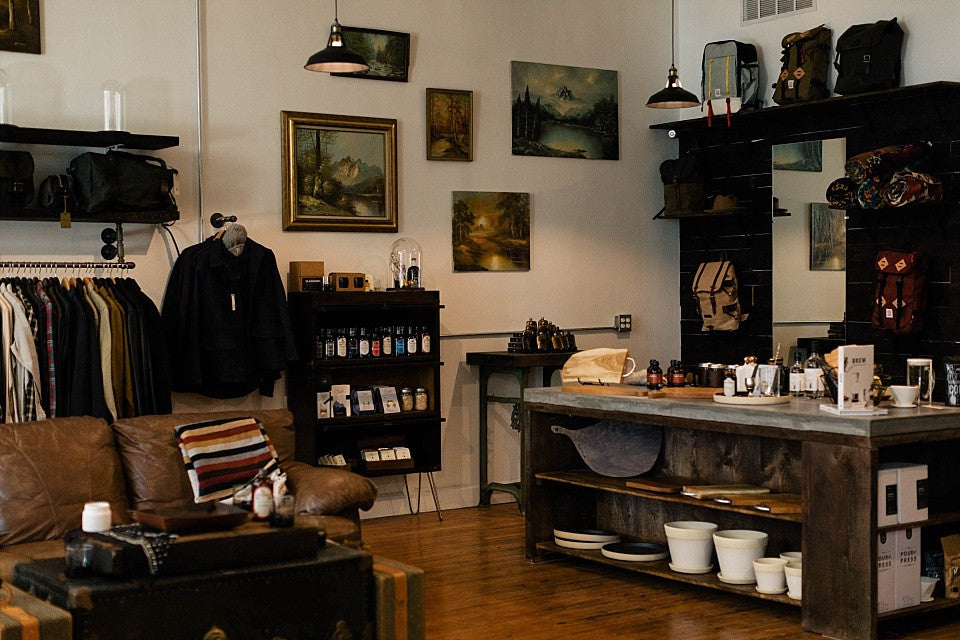 James Dant: A Store for Men