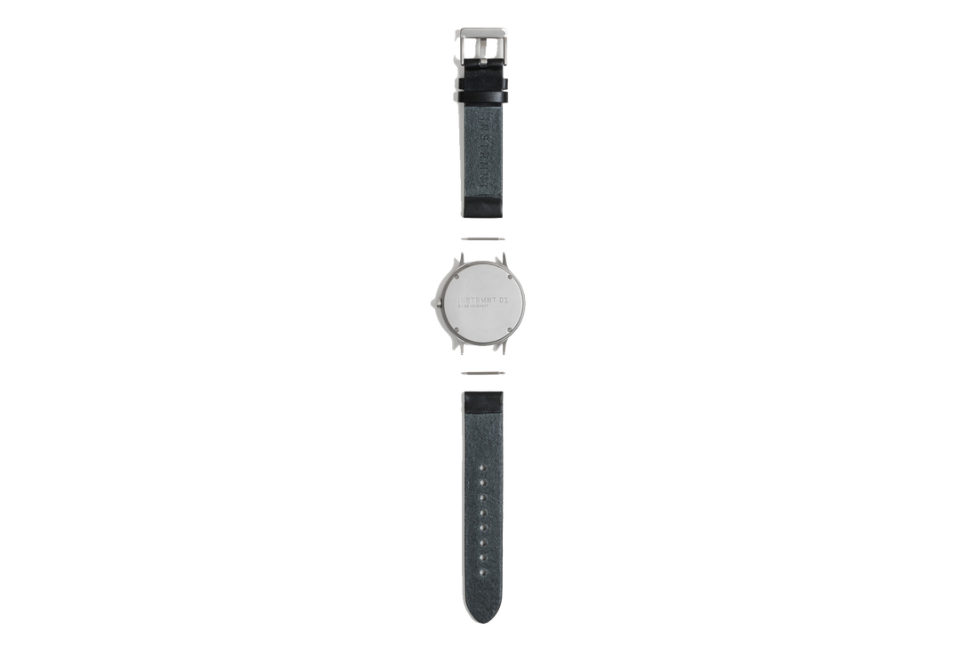 Instrmnt Watch - Silver/Black