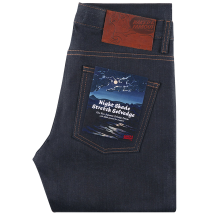 12.5oz - Night Shade Stretch Selvedge - Super Guy