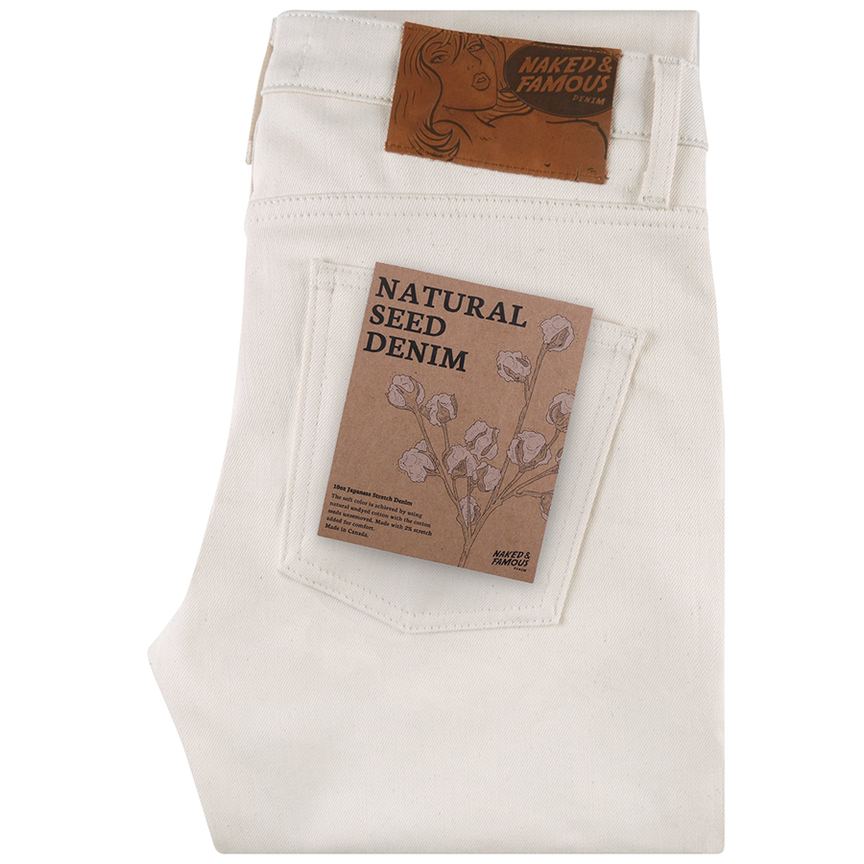 10oz - Natural Seed Denim - Super Guy