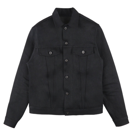 20oz - Elephant 7 Denim Jacket - El Diablo Black