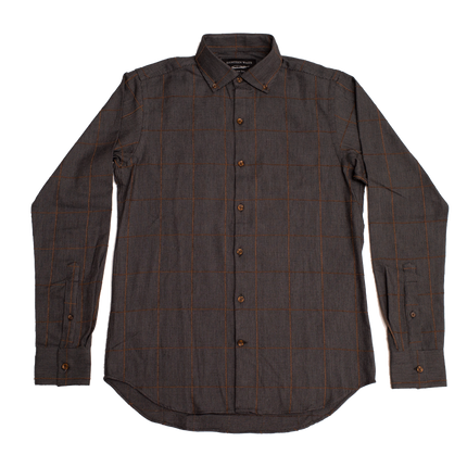 Windsor Shirt - Walnut Windowpane