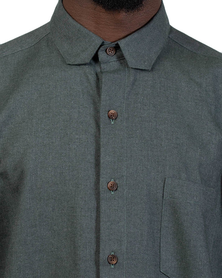 Sterling Flannel Shirt - Evergreen