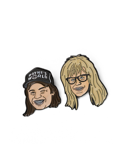 Wayne's World Pin Pack
