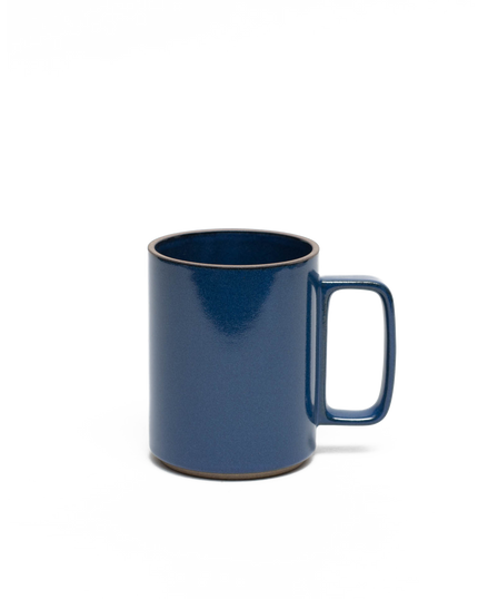 Gloss Blue Porcelain Mug Large 15oz
