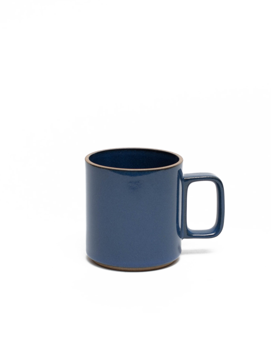 Gloss Blue Porcelain Mug Medium 13oz