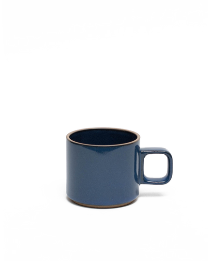 Gloss Blue Porcelain Mug Small 11oz