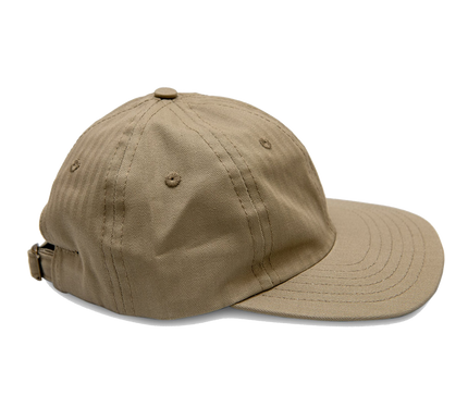 6-Panel Herringbone Twill Cap - Earth