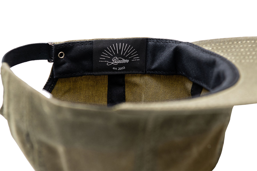 Waxed Canvas Baseball Cap - Olive