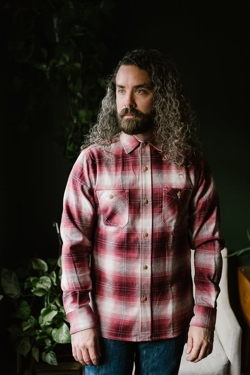 Utility Shirt - Red Brushed Flannel