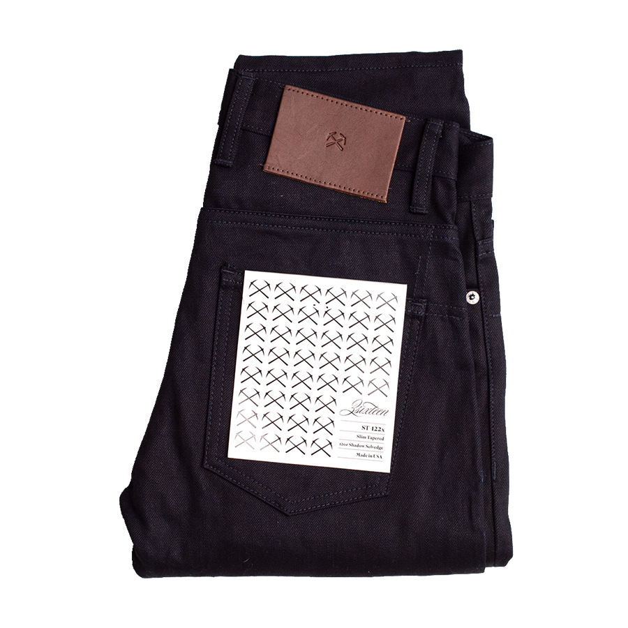 12oz - Lighweight Shadow Selvedge - ST 122x