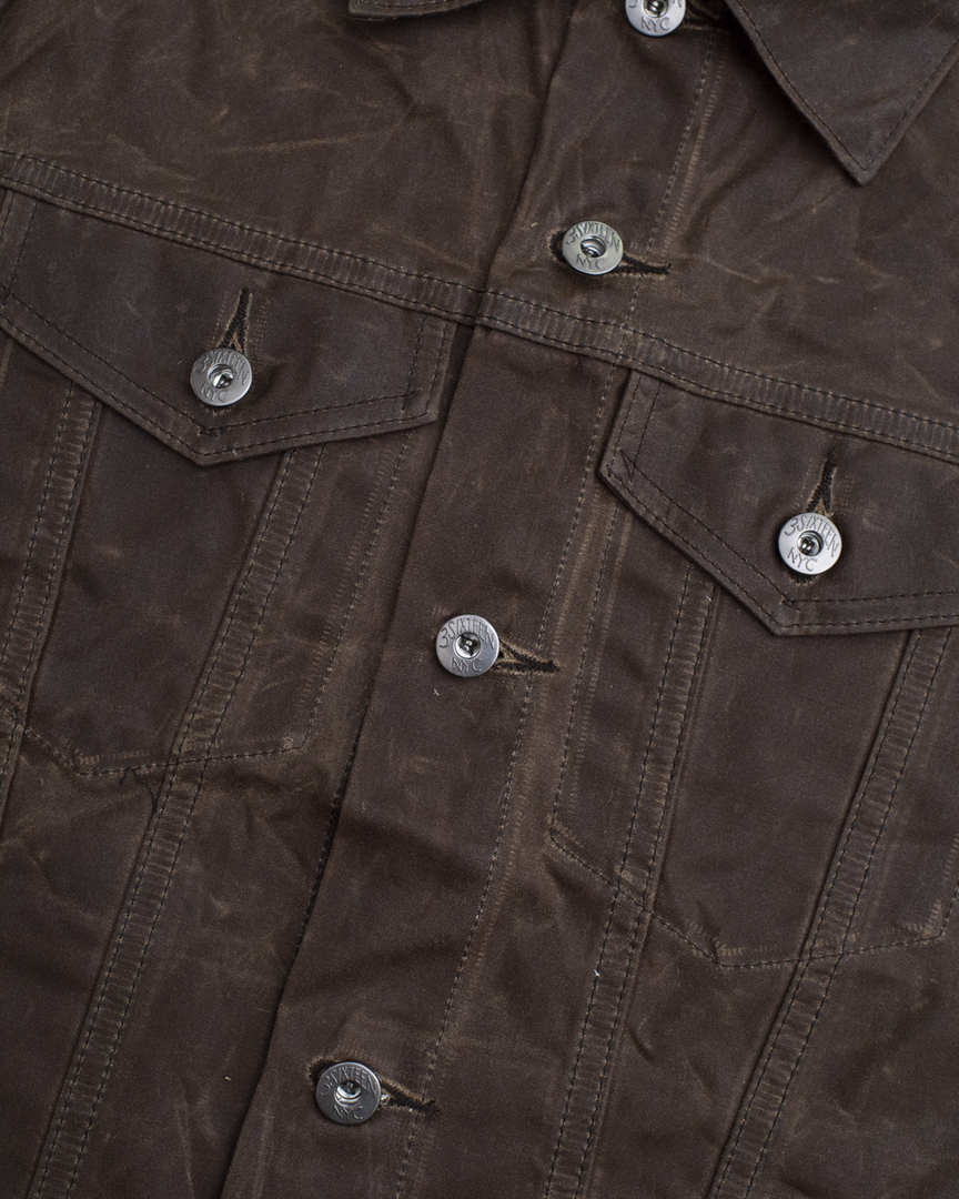 Type 3s Jacket - Field Tan Waxed Canvas