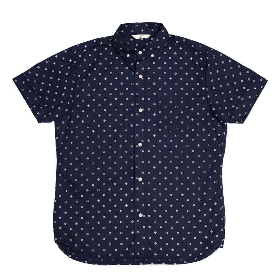 Short Sleeve Button Down Shirt - Gear Floral