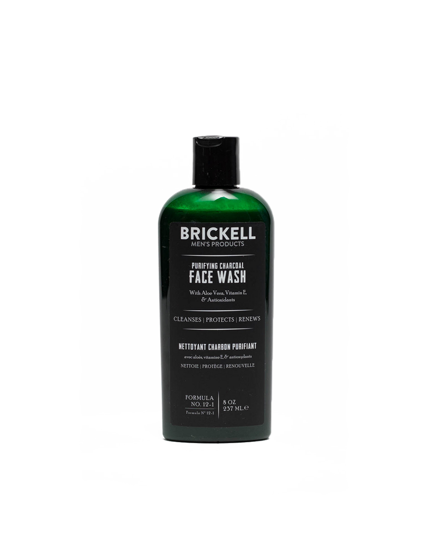 Brickell Charcoal Face Wash