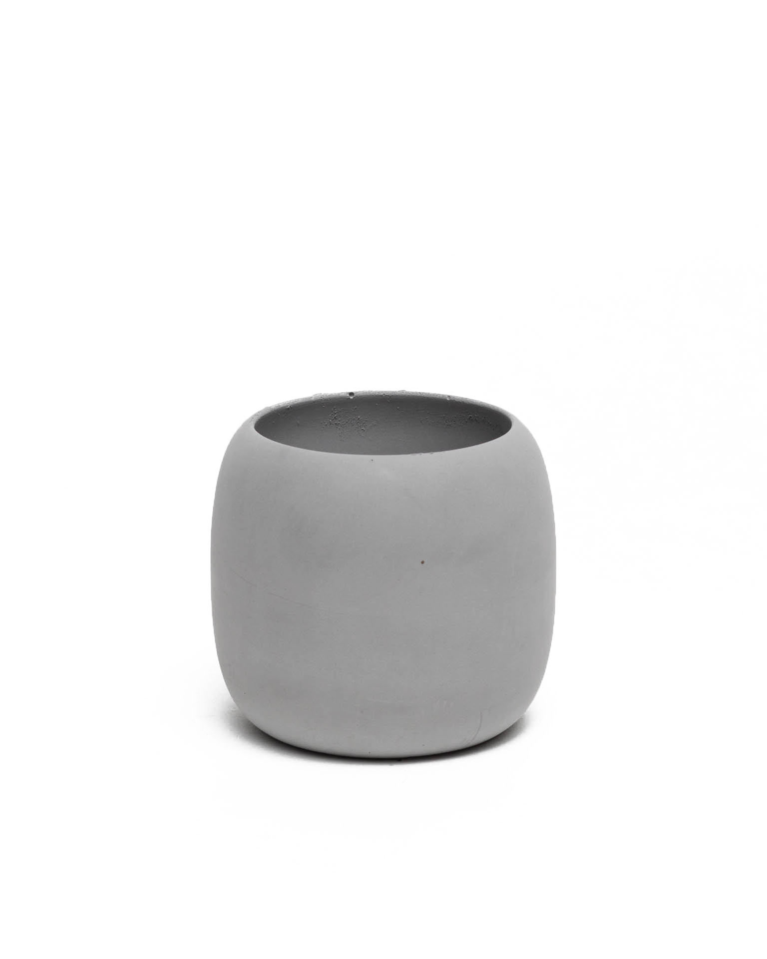 High Concrete Bowl Grey