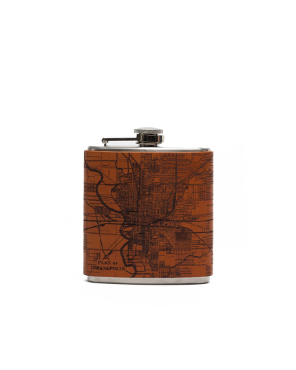 Plan of Indianapolis Flask