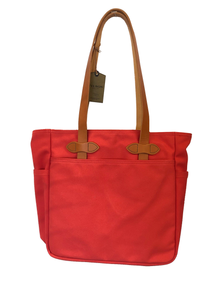 Rugged Twill Tote Bag - Limited Red