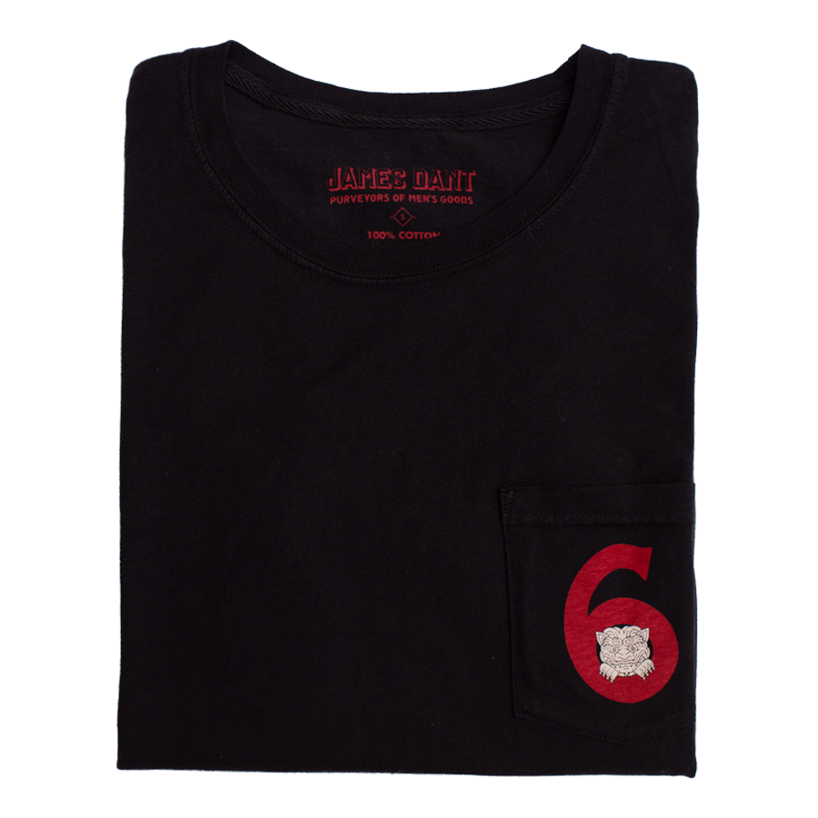 6 Year Japanese Takeover Tee - Black