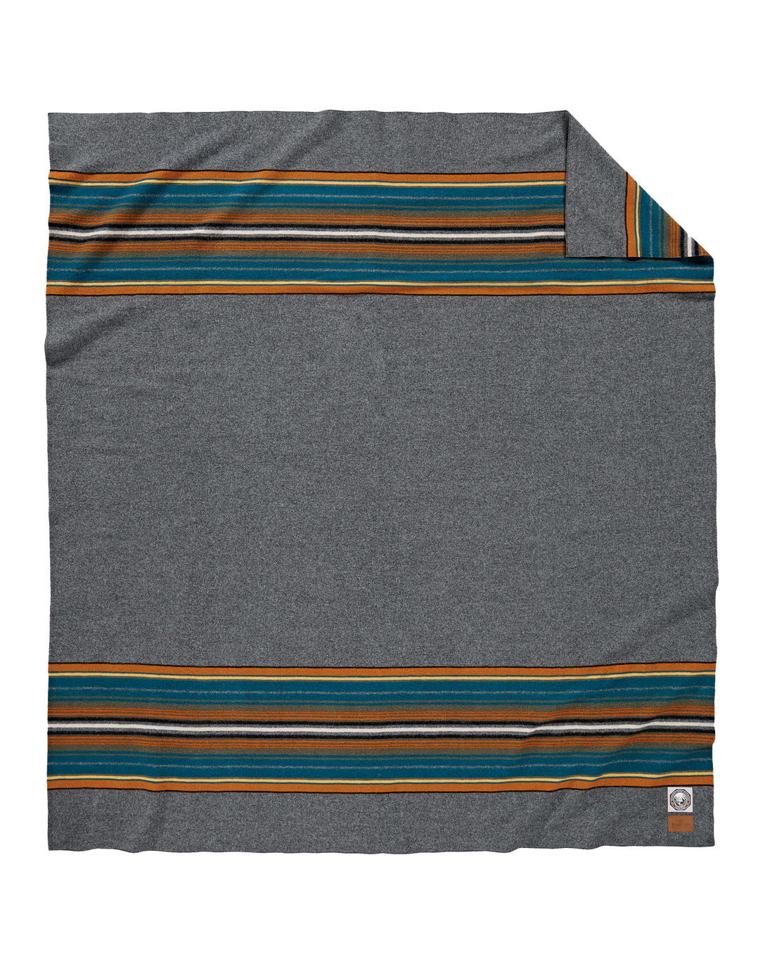 Olympic National Park Blanket Full - Olympic Grey