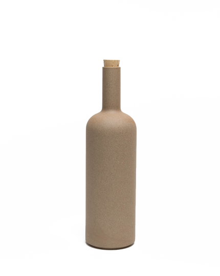 Natural Porcelain Wine Bottle