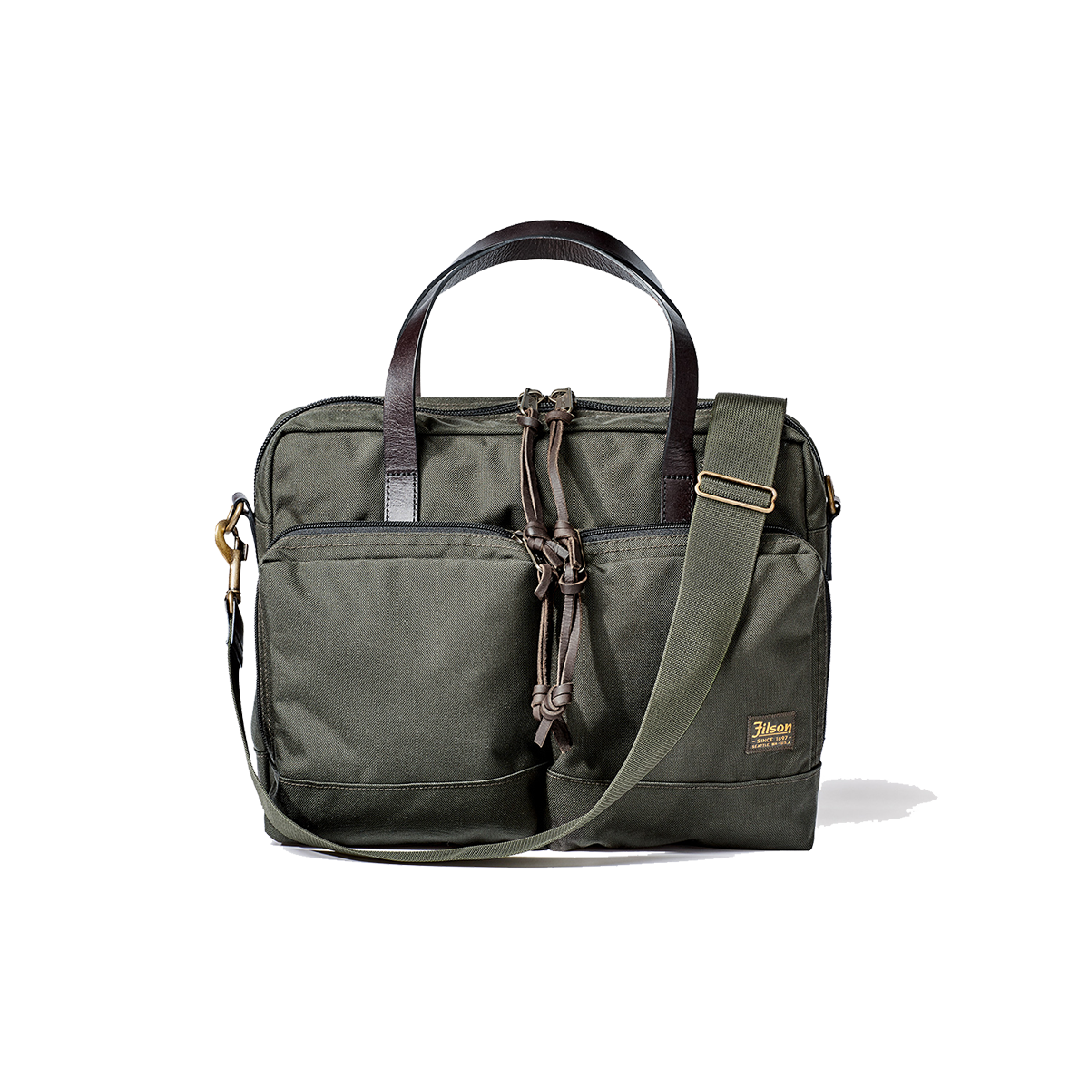 Dryden Briefcase - Otter Green