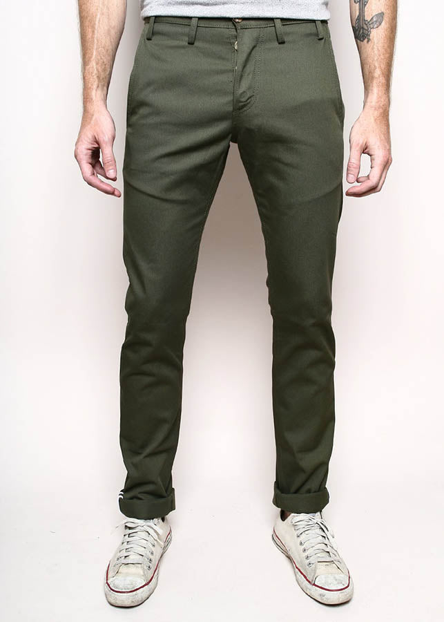 Officer Trouser - Olive