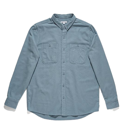 Somedays L/S Shirt - Stone Blue