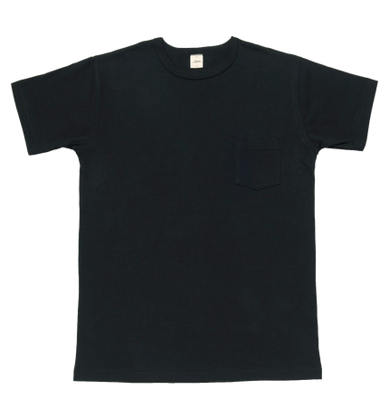 Heavyweight Pocket Tee Shirt - Black