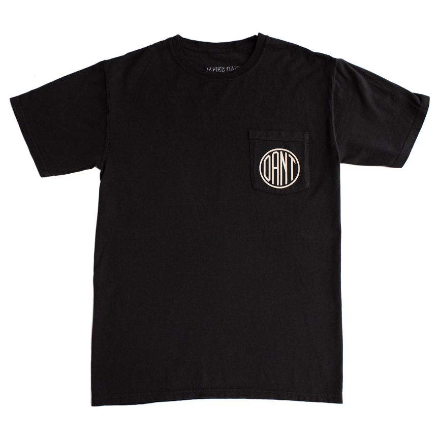 Dant Monogram Pocket Tee - Black