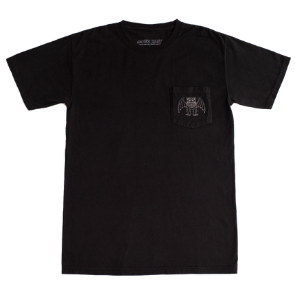 Gargoyle Pocket Tee - Black