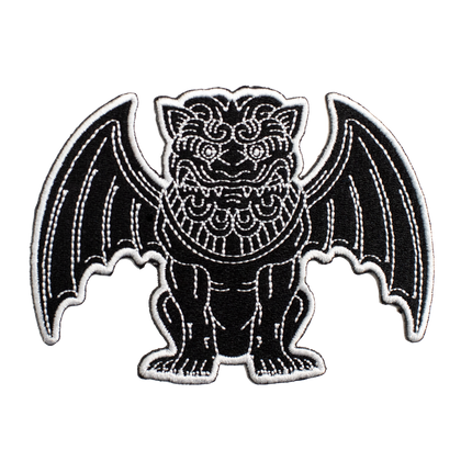 Gargoyle Patch - Black