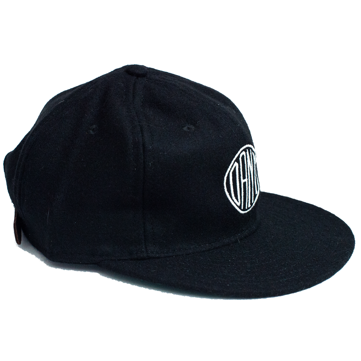Dant Monogram Hat - Black
