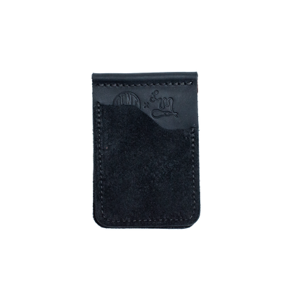 Cannon Card Wallet - Midnight Oil Roughout