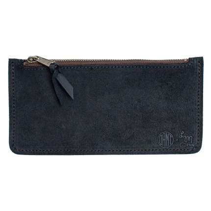Zipper Pouch - Midnight Oil Roughout