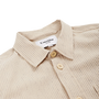 Stripe Linen Overshirt - Natural