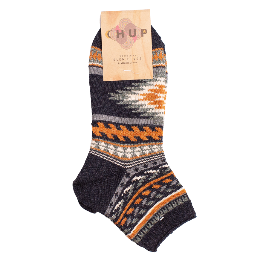 Valle Mid Sock - Charcoal