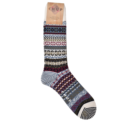 Up Helly AA Sock - White