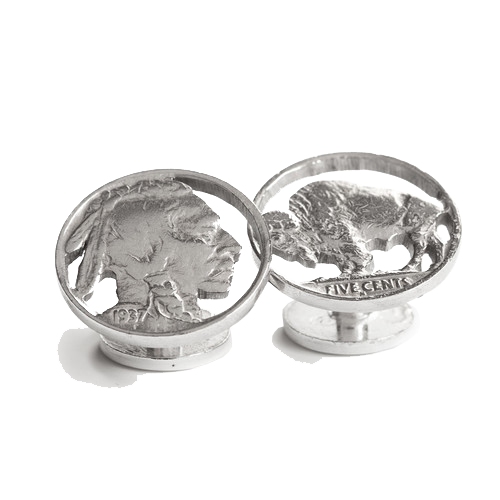 Buffalo/Indian Cuff Links