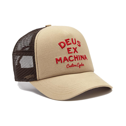 Diego Trucker Hat - Safari