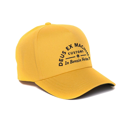 Benzin Baseball Hat - Golden
