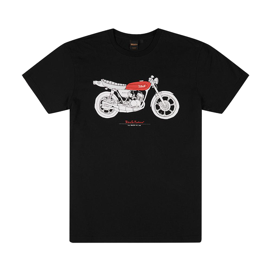 Mach Three Tee - Black