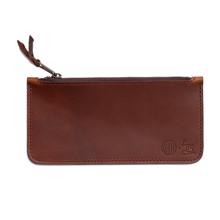 Dant Edition - Zipper Pouch - English Tan