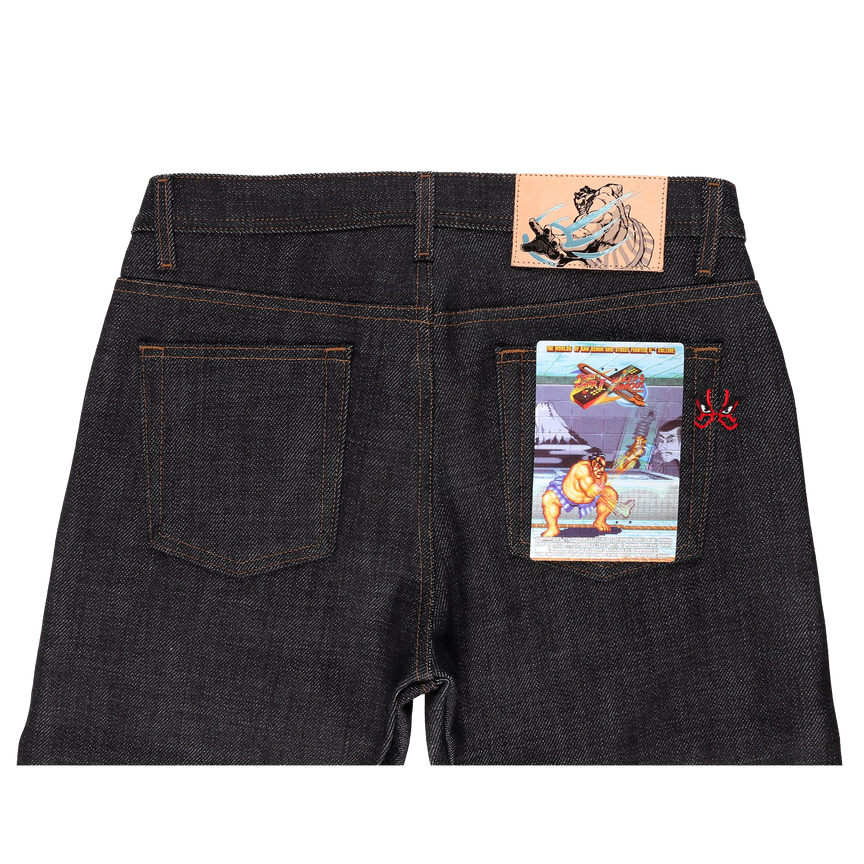 21oz - Street Fighter II - E Honda Heavyweight Sumo Selvedge - Weird Guy